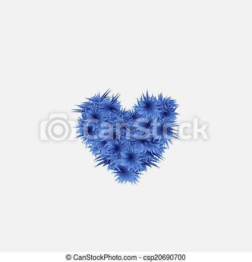 Christmas Heart Vector.Christmas Heart