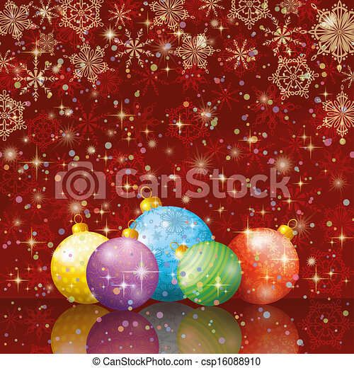 Christmas holiday background - csp16088910