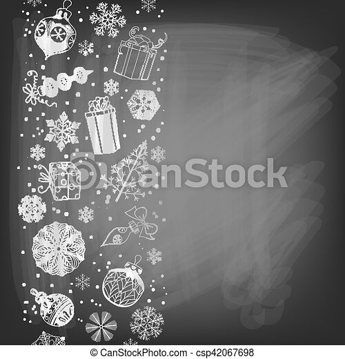 Christmas holiday background - csp42067698