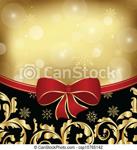 Christmas holiday ornamental decoration for design packing - csp10765142