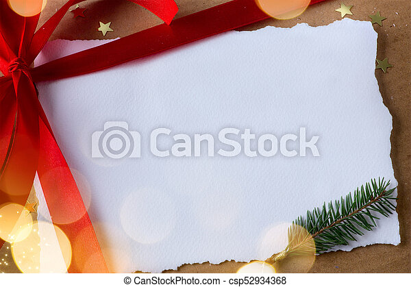Christmas holidays surprise; Christmas greeting card background - csp52934368