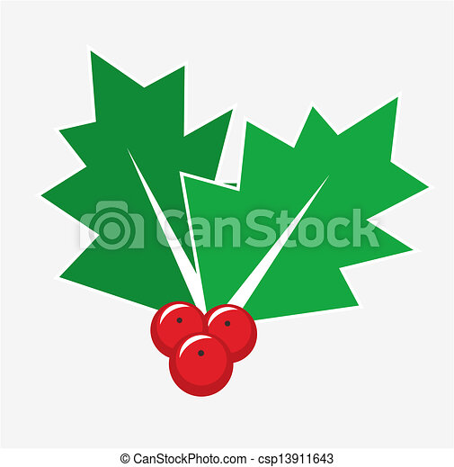christmas holly berry christmas card decoration isolated eps rh canstockphoto com christmas card clipart black and white christmas card clipart png