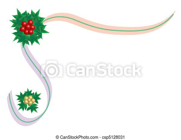 Christmas holly - csp5128031