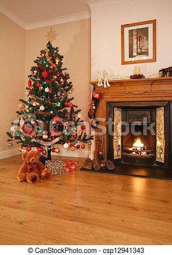 Christmas home decor - csp12941343