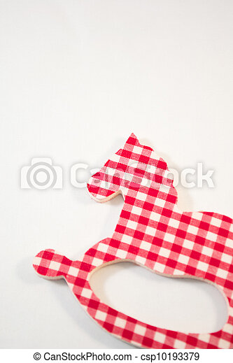 Christmas horse - csp10193379