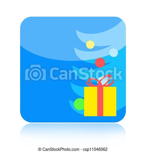 Christmas icon - csp11046062