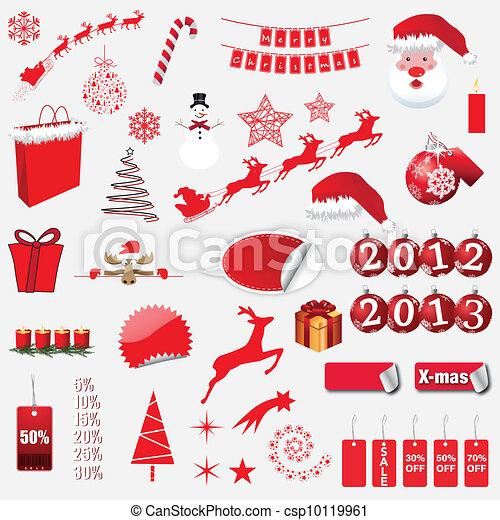 Christmas Icons - csp10119961