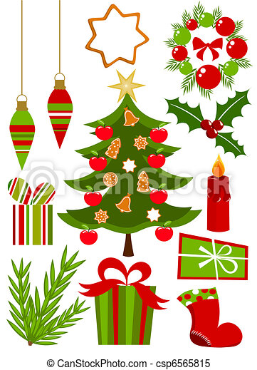 Christmas Icons Collection Christmas Icons Ans Symbols Collection