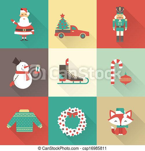 christmas icons - csp16985811