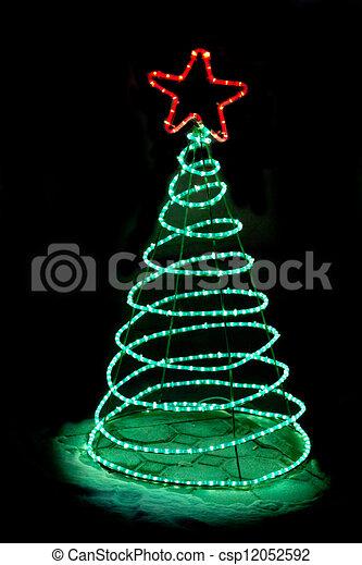 Christmas illumination - csp12052592
