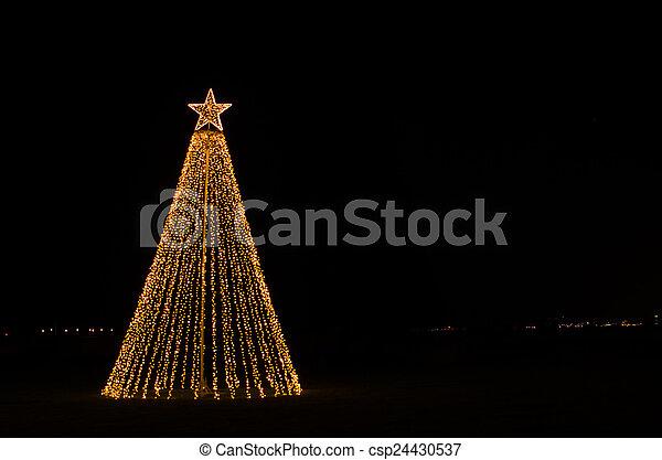 Christmas illumination - csp24430537