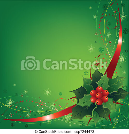 Christmas Illustration - csp7244473