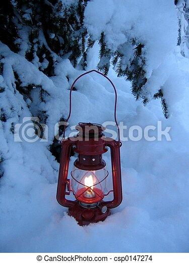 christmas lamp - csp0147274