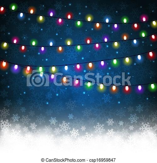 Christmas light - csp16959847
