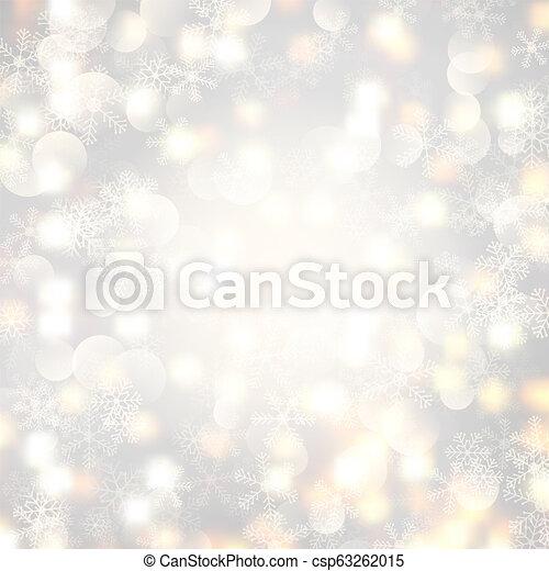 Christmas lights and snowflakes 1311 - csp63262015