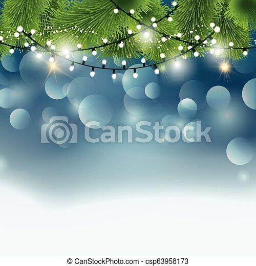 christmas lights background 1310 - csp63958173