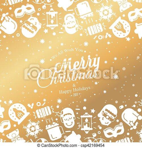 Christmas lights background. - csp42169454