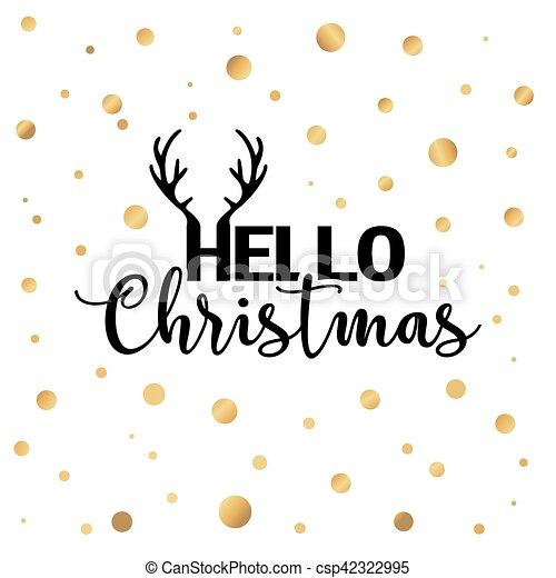 Christmas lights background. - csp42322995