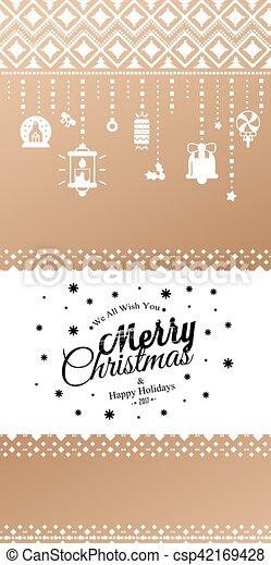 Christmas lights background. - csp42169428