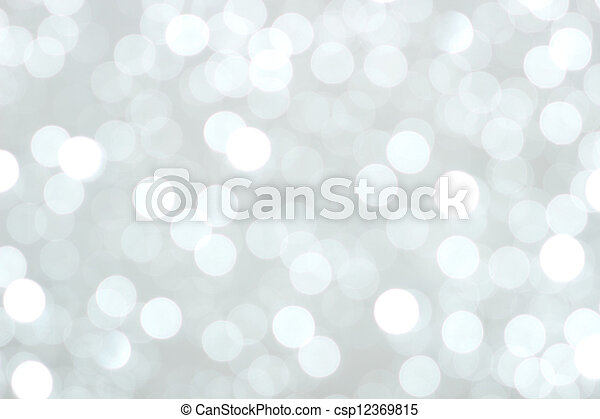 christmas lights background - csp12369815