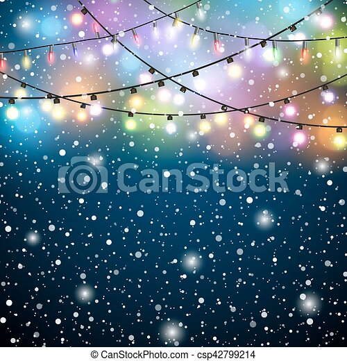 glowing lights colorful fairy lights background free vector snowflake clipart free download vector snowflakes