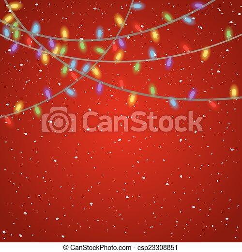 Christmas Lights - csp23308851