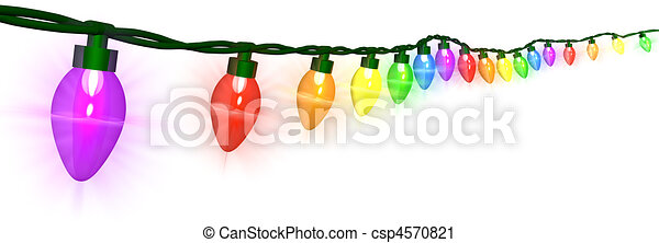 Christmas Lights - csp4570821