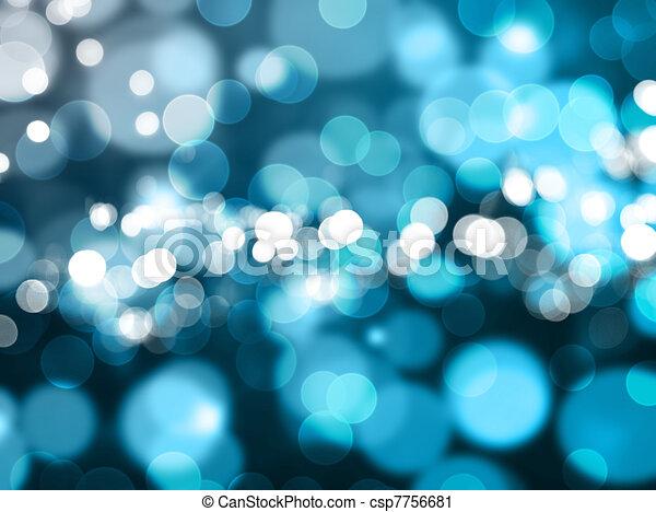 Christmas lights - csp7756681