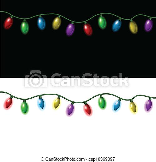 Christmas lights - csp10369097