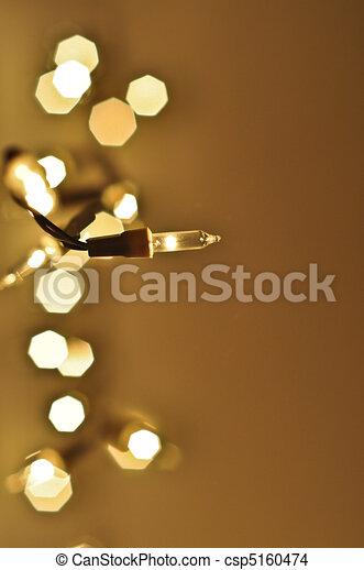 Christmas Lights - csp5160474