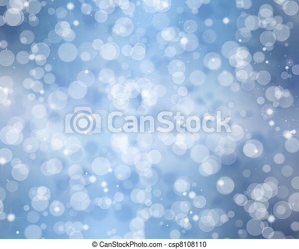 Christmas lights - csp8108110