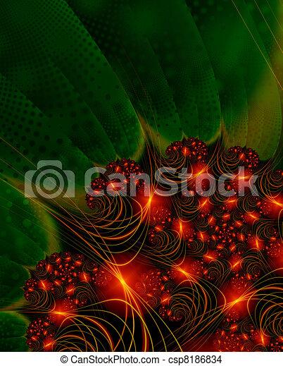 Christmas Lights - csp8186834