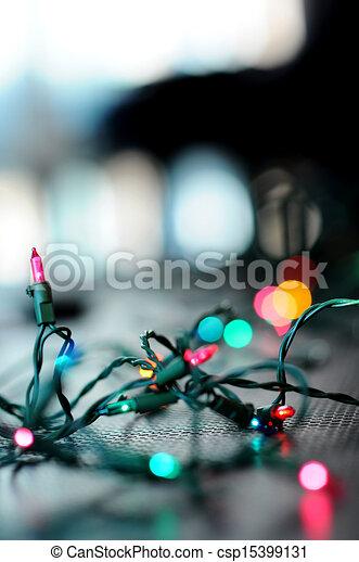 Christmas Lights - csp15399131