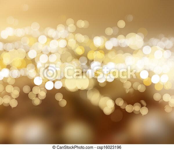 Christmas lights - csp16023196
