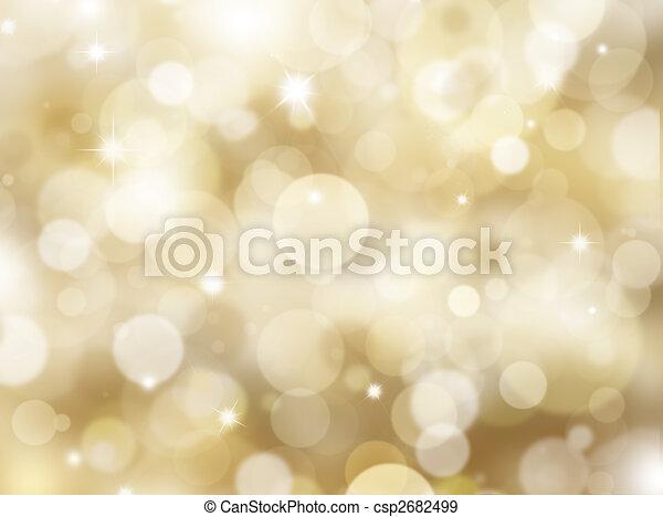 Christmas lights - csp2682499