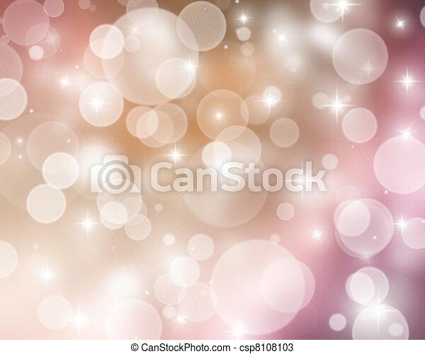 Christmas lights - csp8108103