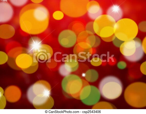 Christmas lights - csp2543406