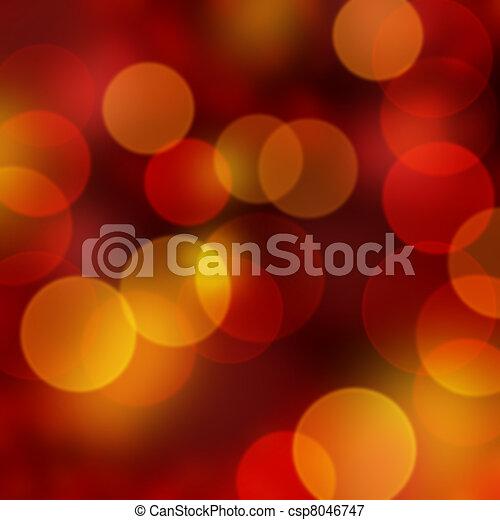 Christmas lights - csp8046747