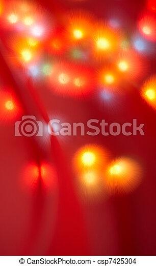 christmas lights - csp7425304