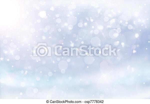 christmas lights - csp7778342