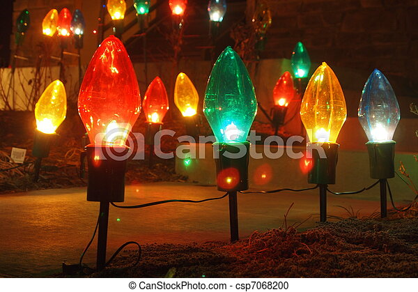 big light bulb christmas lights