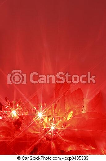 christmas lights - csp0405333