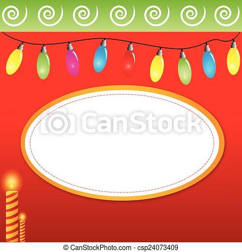 Christmas Lights - csp24073409
