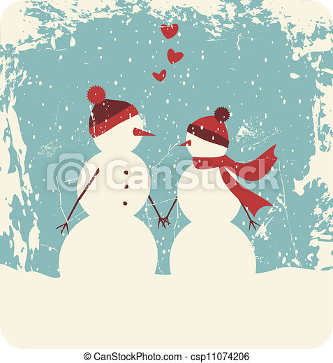 christmas love illustration of two cute snowmen in love rudolph clip art antlers rudolph clip art free