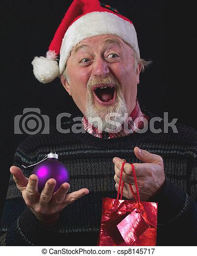 Christmas Man - csp8145717