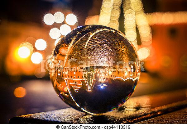 Christmas market - csp44110319