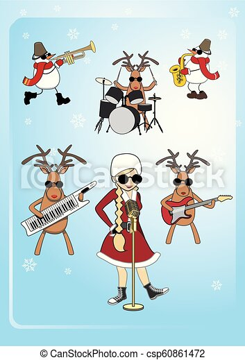 Musical clipart christmas, Musical christmas Transparent FREE for download  on WebStockReview 2020