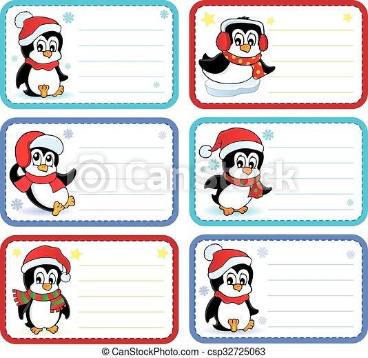 Christmas Name Tags.Christmas Name Tags Collection 3
