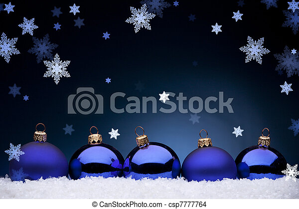 Christmas night - csp7777764