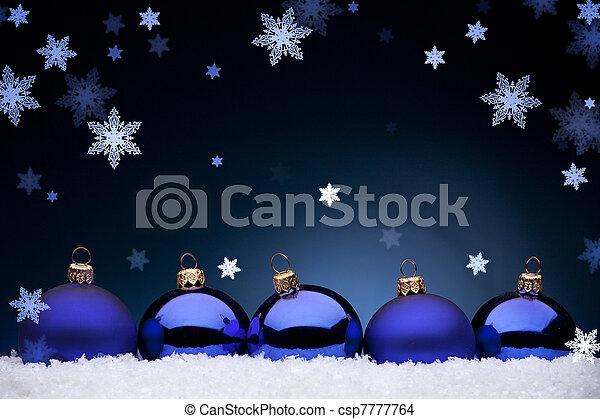 Christmas night - csp7777764